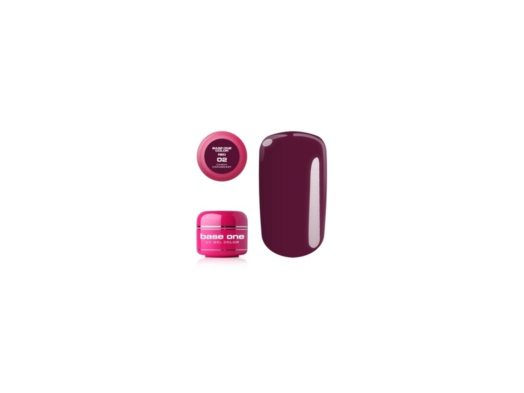 5321 silcare farebny uv gel 5ml red colection 2