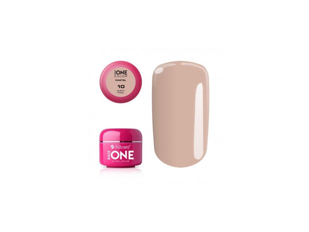 5375 silcare farebny uv gel 5ml pastel dirty pink 10