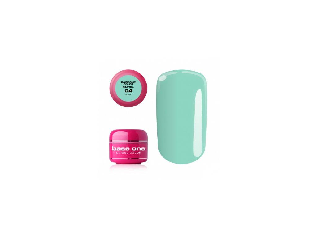 5384 silcare farebny uv gel 5ml pastel mint 4