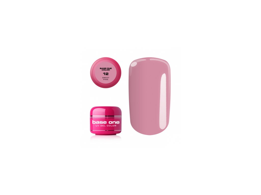 5408 silcare farebny uv gel 5ml noname sweet pink 12