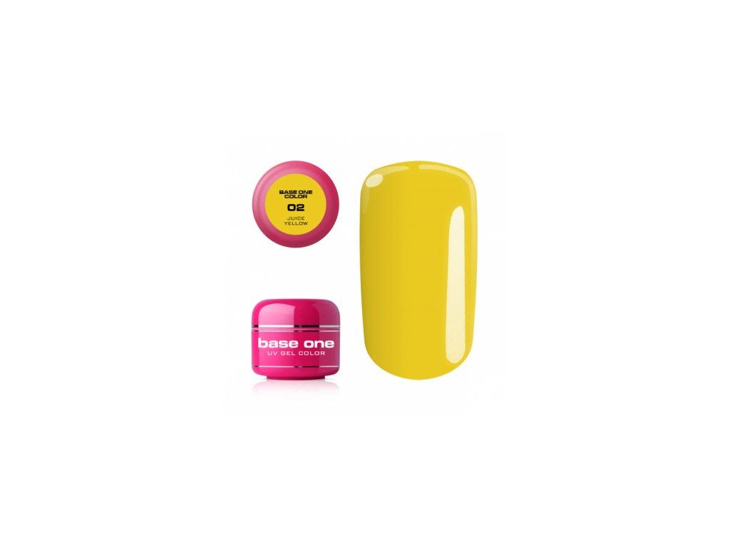 5429 silcare farebny uv gel 5ml noname juice yellow 2