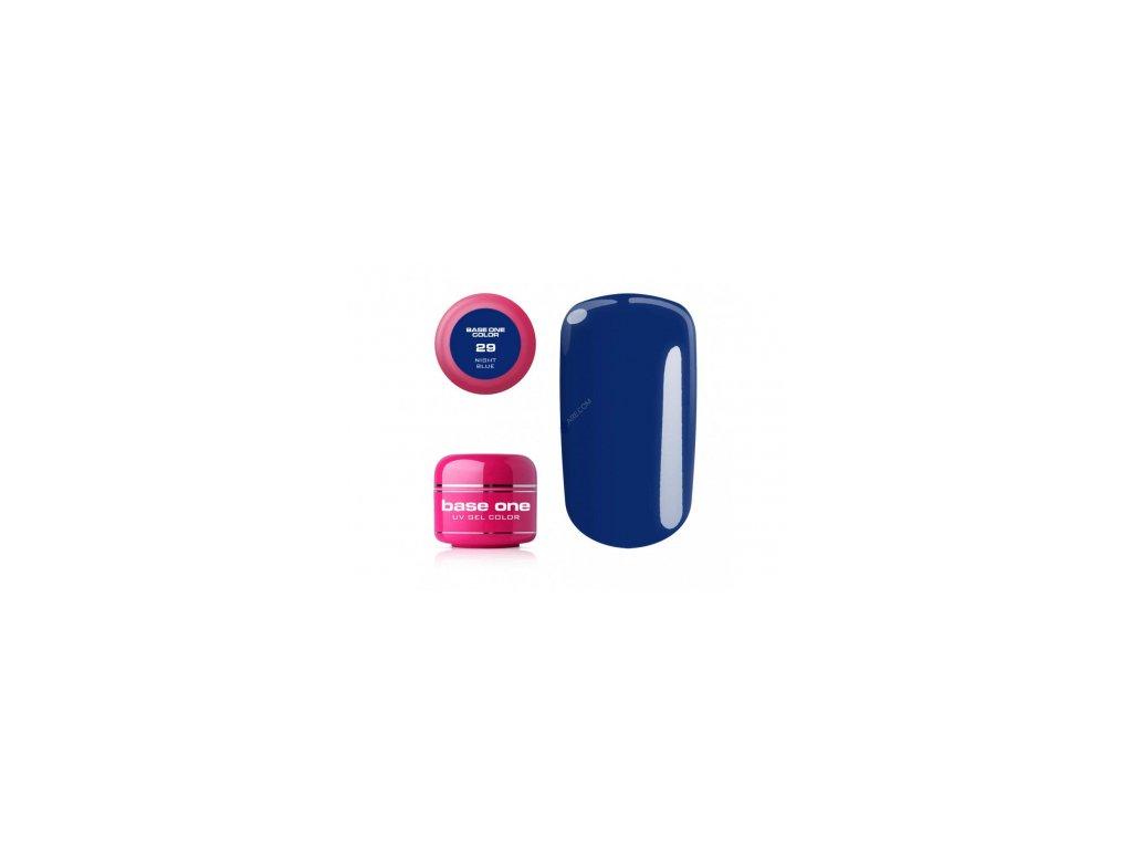 5453 silcare farebny uv gel 5ml noname night blue 29