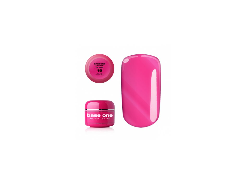 5477 silcare farebny uv gel 5ml noname deep fuschia 19