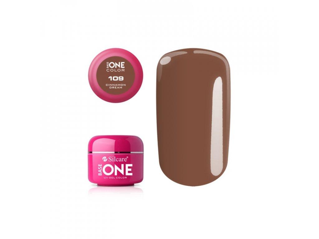 5597 silcare farebny uv gel 5ml base one cinnamon dream 109