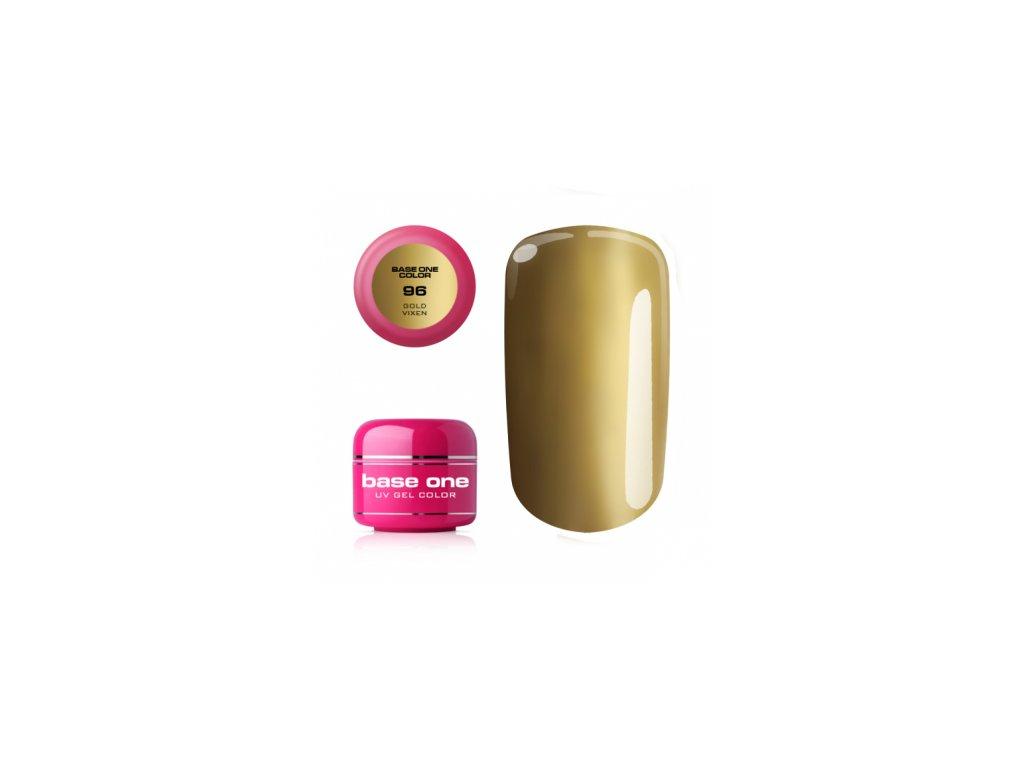 5609 silcare farebny uv gel 5ml base one gold vixen 96
