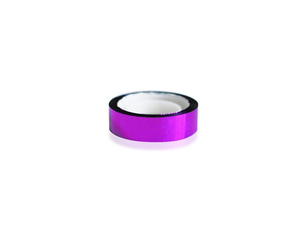 5906 nail art folia fialova hviezdicky