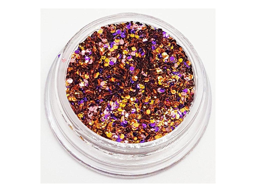 803 disco glitter golden time 3
