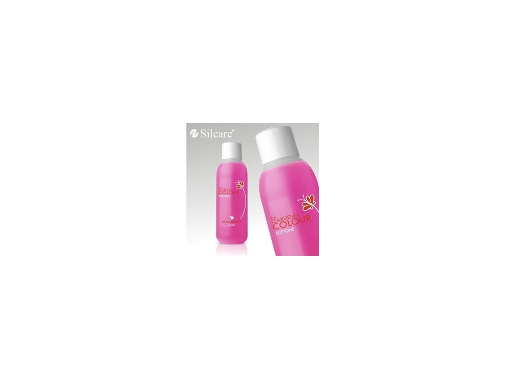 9254 the garden of colour acetone odstranovac gel laku strawberry pink 150ml