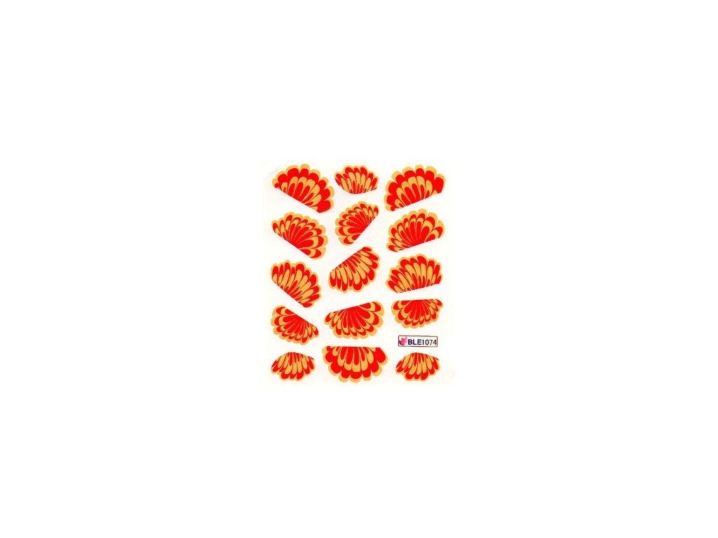 9671 nalepky vzor