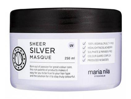 12536 maria nila sheer silver mask