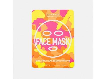12848 hydratacna maska na tvar kocostar camo