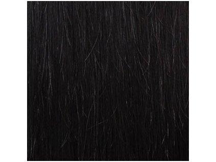 13307 exkluzivne clip in vlasy odtien 1b dlhe 60cm vaha vlasov 120g