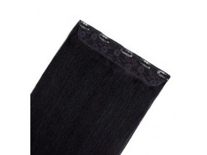 13574 flip volume jednopasove clip in vlasy 60cm 60g odtien 1