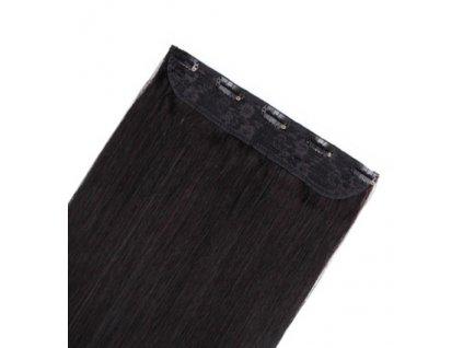 13580 flip volume jednopasove clip in vlasy 60cm 60g odtien 1b