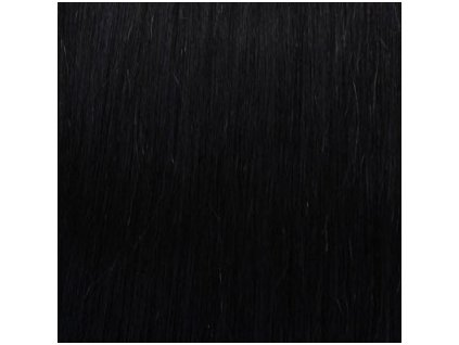 13661 remy vlasy keratin 1 cierna
