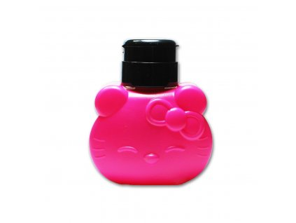140 davkovac na tekute pripravky hello kitty pink