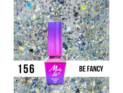 GEL LAK Molly Lac Molly Lac Gem & Silver Be Fancy 5ml Nr 156
