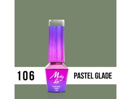 GEL LAK Molly Lac Molly Lac Pure Nature Pastel glade 5ml Nr 106