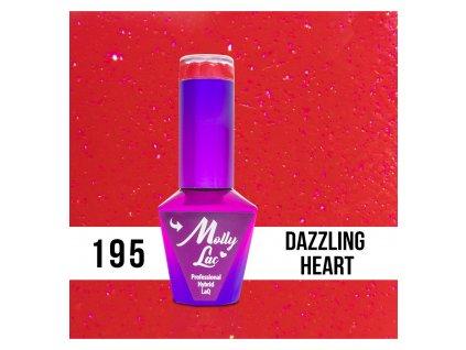 195 molly lac gel lak dazzling heart 5 ml