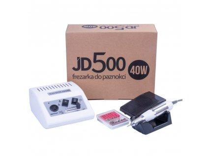 Profesionální bruska na nehty JSDA Power JD500 40W - Bílá