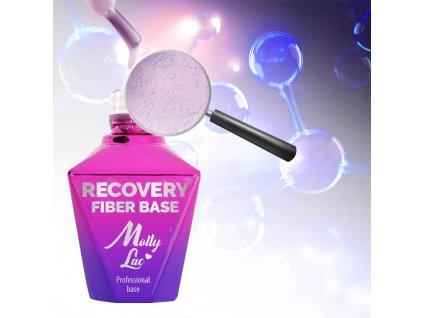 Podkladový regenerační gel lak s vlákny hedvábí MILKY WAY 10ml