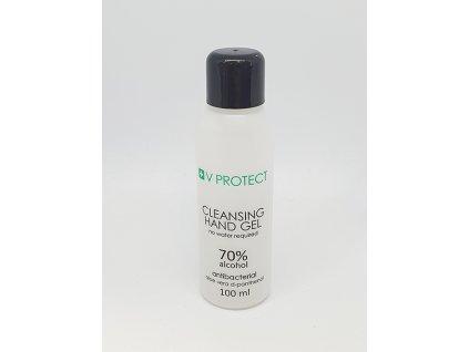 Antibakteriální gel na ruce s aloe vera a d-panthenolem 70% alkoholu - 100 ml s