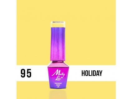 GEL LAK Molly Lac Rest&Relax Holiday 5ml nr 95