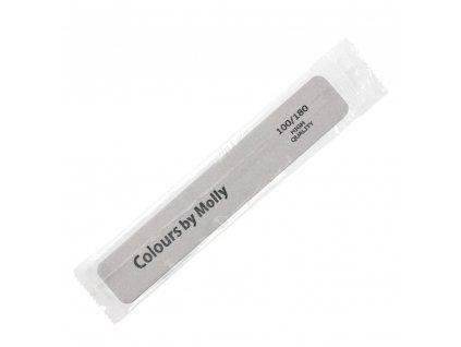 Hygienicky balený pilník na nehty Molly Lac 100/180 široký