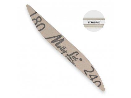 Hygienicky balený pilník na nehty Molly Lac 180/240 elipsa1