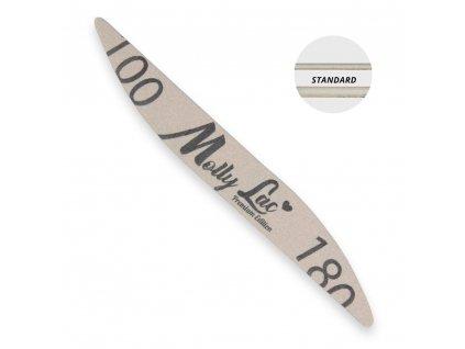 Hygienicky balený pilník na nehty Molly Lac 100/180 elipsa1
