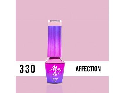 GEL LAK Molly Lac Fancy Fashion Affection 5ml Nr 330
