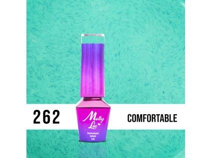 GEL LAK MollyLac Pupils Comfortable 5ml Nr 262