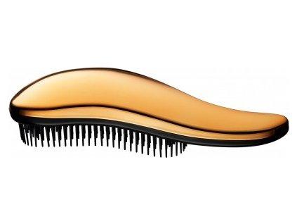 3590 luxury chrome kefa na vlasy metalicka zlata