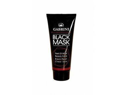 6359 gabrini black mask peel off obohatena o vitamin e 80ml