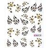 11432 nalepky flowerx 21