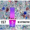 GEL LAK Molly Lac Molly Lac Gem & Silver Be Attractive 5ml Nr 157