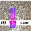 GEL LAK Molly Lac Molly Lac Gem & Silver Be Queen 5ml Nr 155