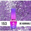 GEL LAK Molly Lac Molly Lac Gem & Silver Be Chic 5ml Nr 153