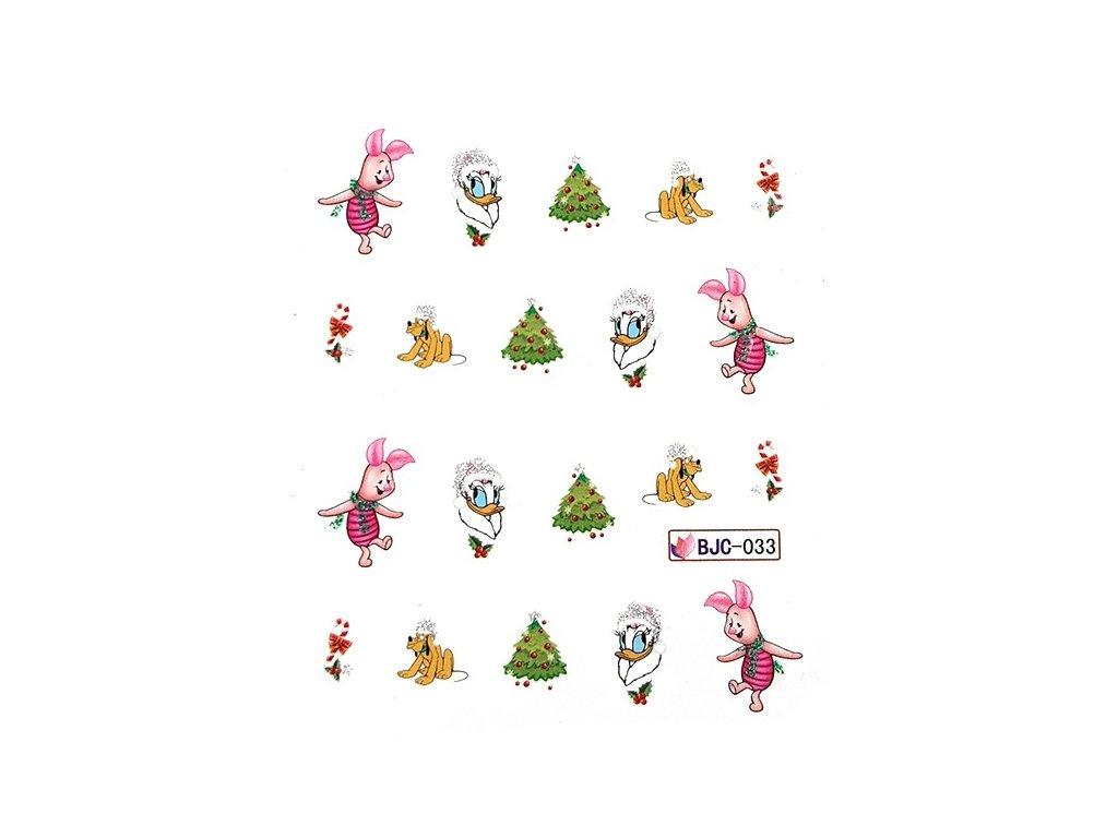 Nálepky vianočné rozprávkové