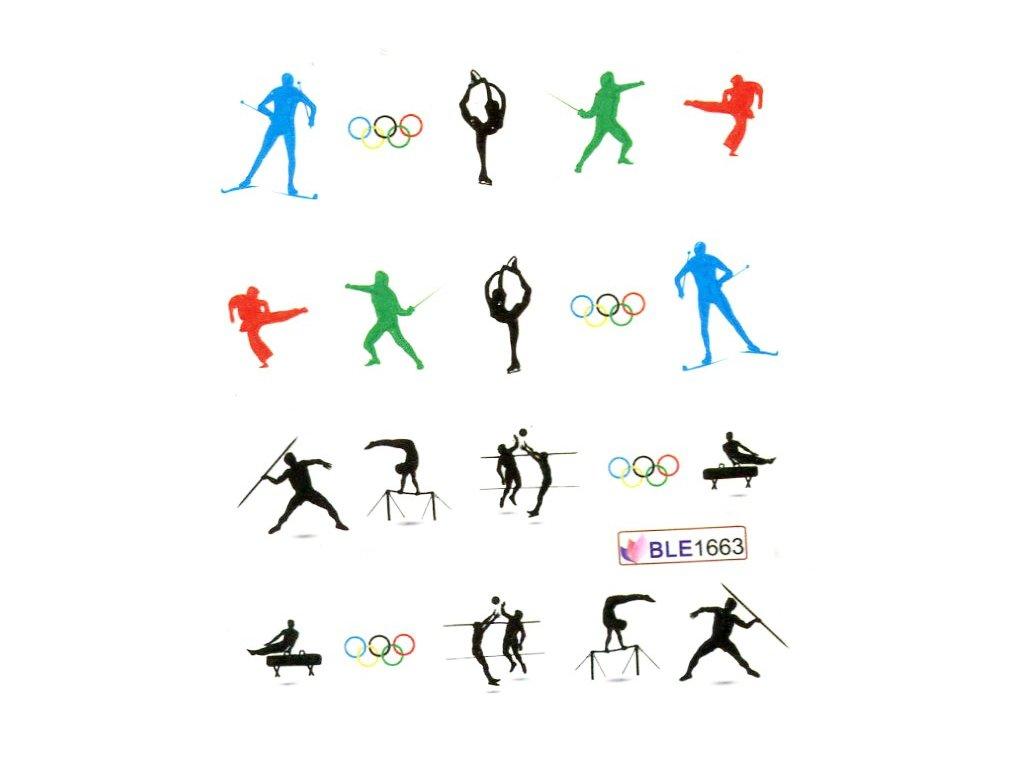 Nálepky olympiada