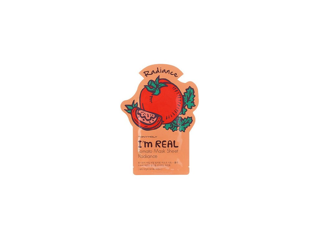 Rozjasňujúca, hydratačná paradajková maska TONY MOLY