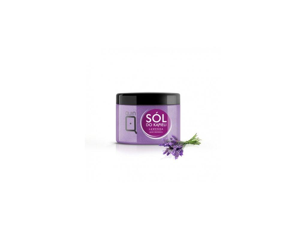 Soľ do kúpeľa - 600g - levandula Silcare