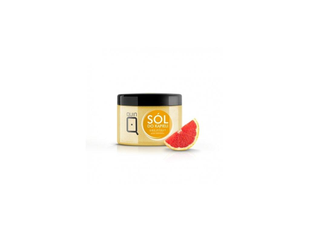 Soľ do kúpeľa - 600g - grapefruit Silcare