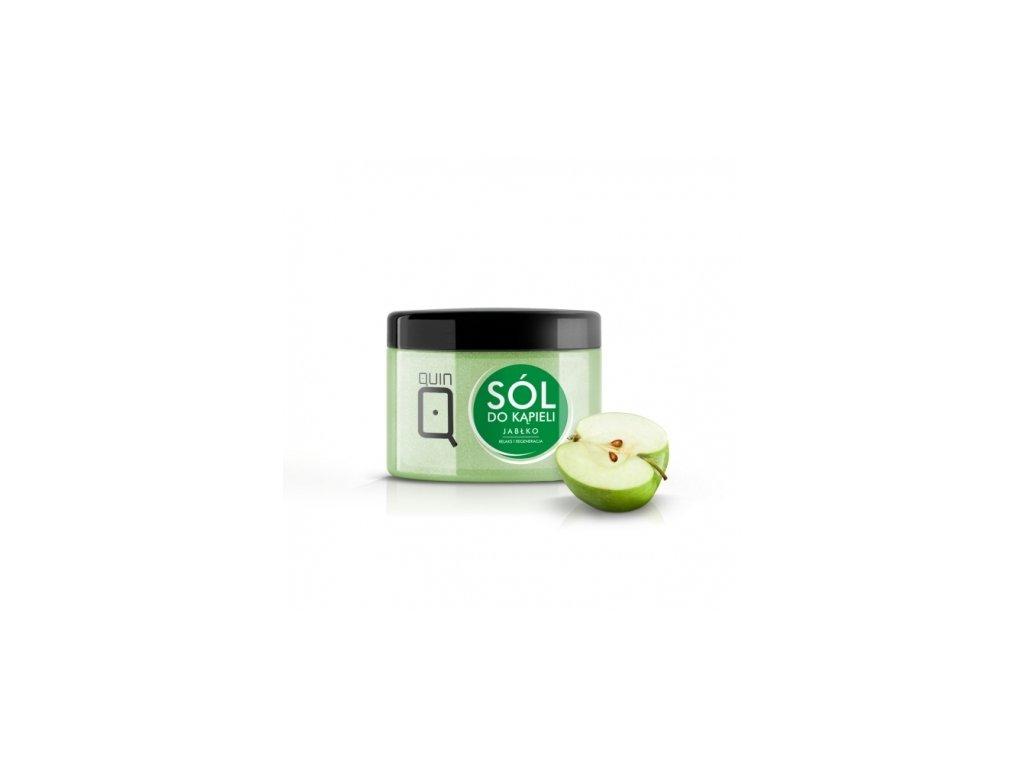 Soľ do kúpeľa - 600g - jablko Silcare