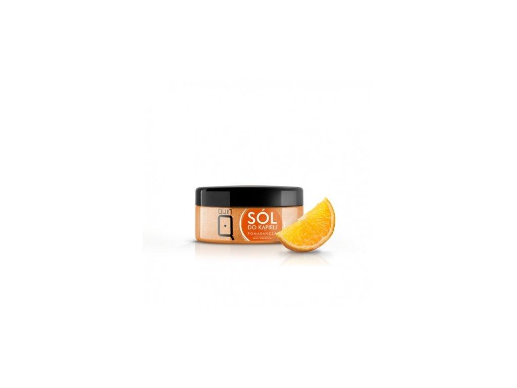 Soľ do kúpeľa - 350g - pomaranč Silcare