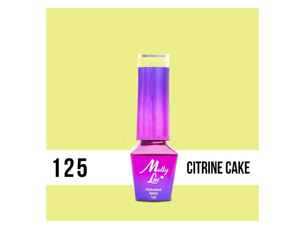 GEL LAK Molly Lac Yoghurt Citrine Cake 5ml Nr 125