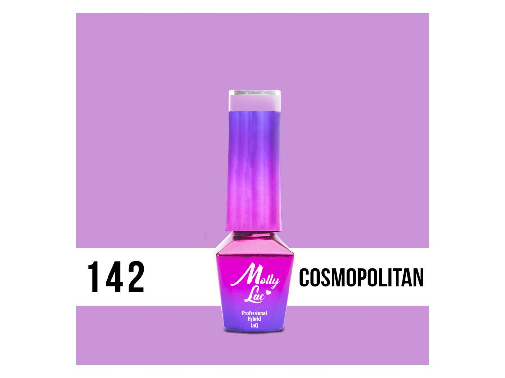GEL LAK Molly Lac Flamingo Cosmopolitan 5ml č. 142