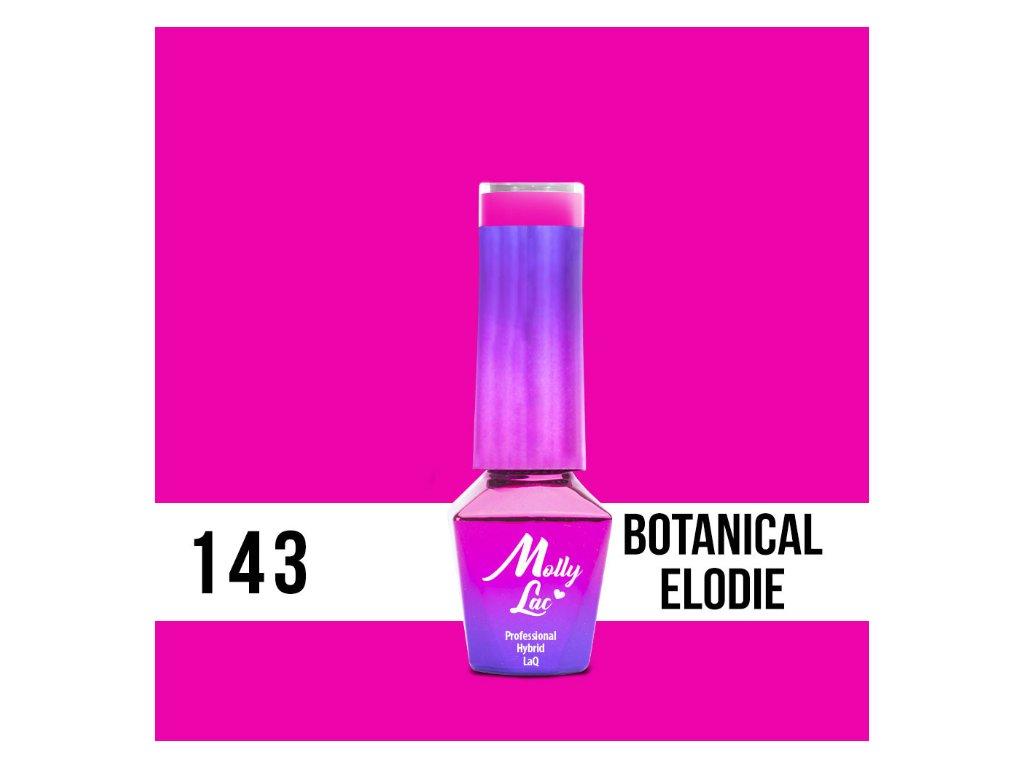 GEL LAK Molly Lac Flamingo Botanical Elodie 5ml Nr 143