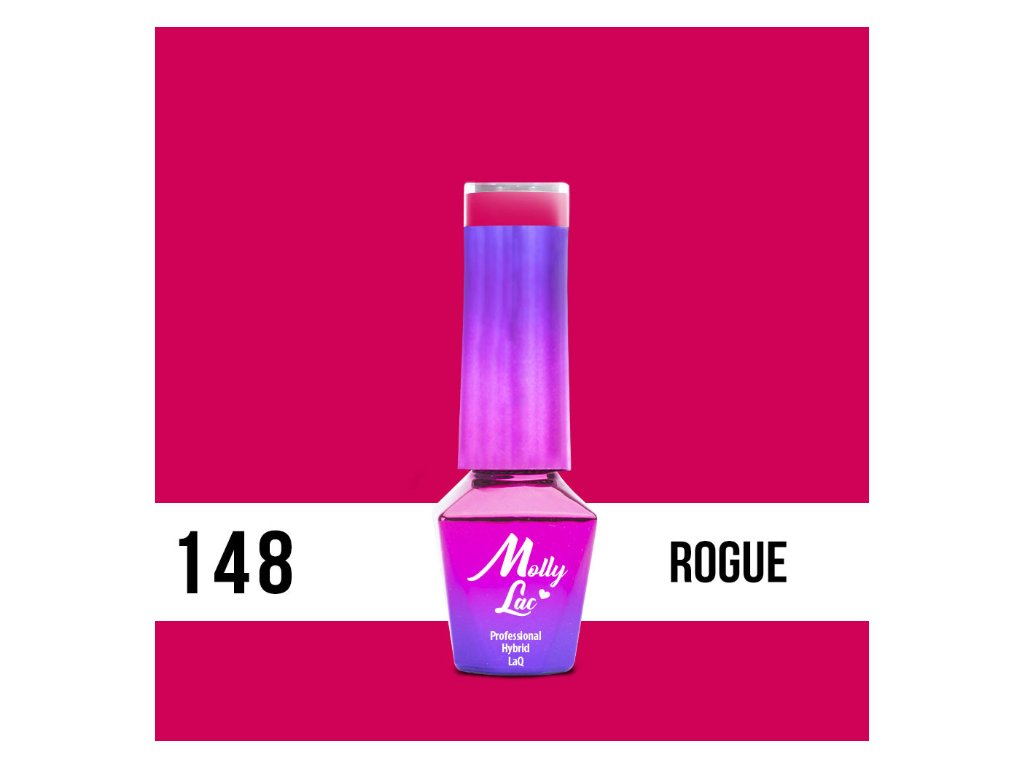 GEL LAK Molly Lac Flamingo Rogue 5ml Nr 148