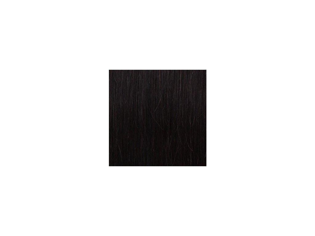 Exkluzívne clip in vlasy - odtieň 2 dlhé 50cm váha vlasov 100g